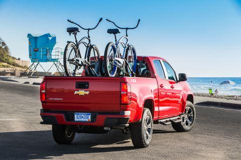 chevy colorado bike racks