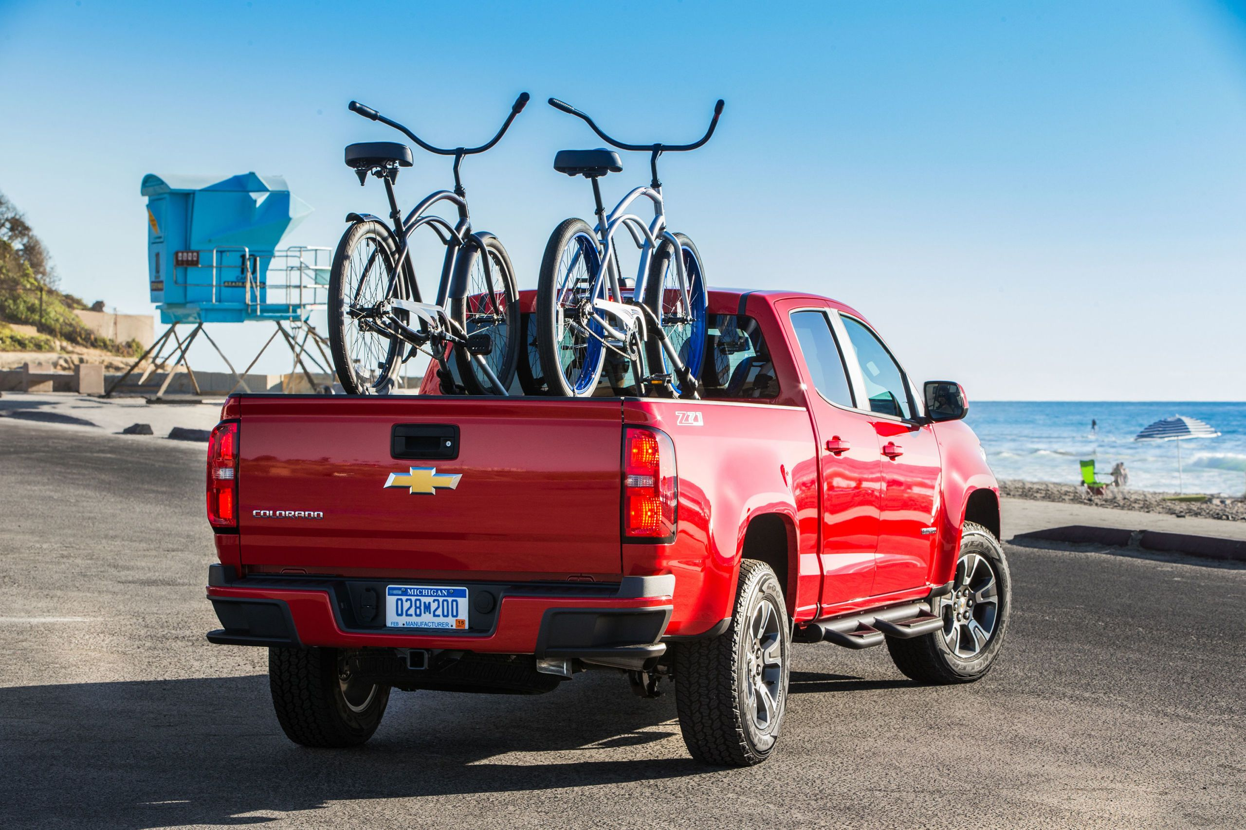 chevy colorado bike racks & The Chevy Colorado: An Urban and Active Pickup Lovers Dream