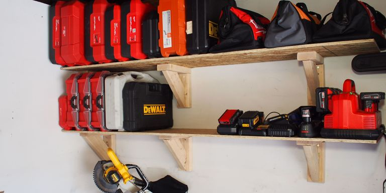 How to build garage storage shelves on the cheap solutioingenieria Gallery
