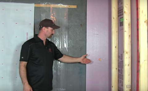 Be Sure to Use a Moisture Barrier When Building Out Your Basement