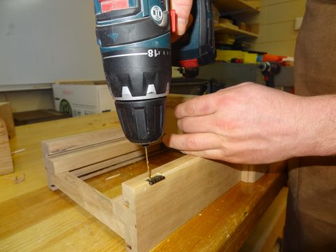 "<p>""When should you drill pilot holes? When you don't want the wood to split,"" Lyons says. ""I have my students pre-drill holes for everything.""</p><p>This is yet another thing that's easy to forego when you rush, but using an 1/8-in. or smaller drill bit to bore a small hole in the wood allows the screws to drive much smoother without the wood cracking or breaking. ""It only takes a few seconds to pre-drill, but it takes a long time to replace split wood,"" he says.</p>"