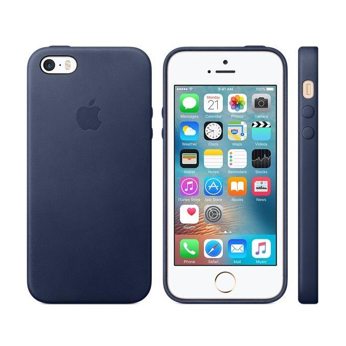 Apple Leather Case iPhone SE
