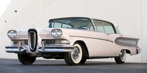 <p>The launch of Ford's Edsel sub-brand has gone down in history as one of the biggest disasters in the history of the automobile. And while there were plenty of cars from the late 1950s that look more graceful, we can't help but appreciate Edsels for their distinct appearance and for being ahead of their time.</p>