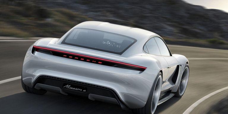 The Porsche Flagship Electric Car Has a Name: Taycan