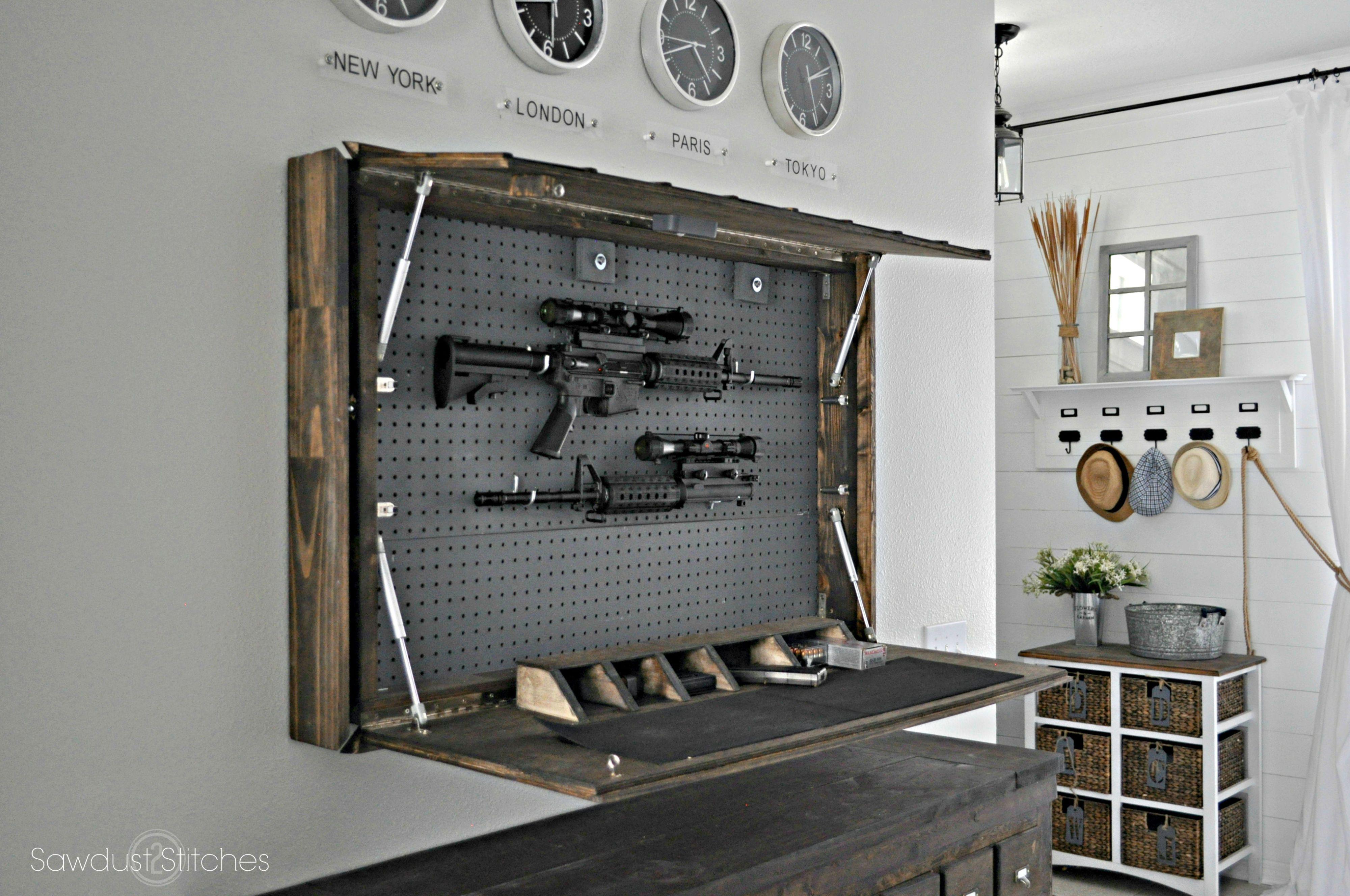 Delicieux Secret Gun Compartment