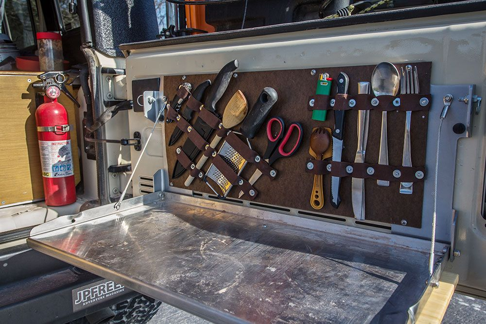 Build This DIY Tailgate Table and Utensil Holder for Your Next