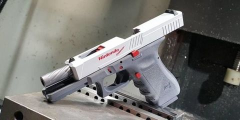 This NES Gun Is Actually a Real Modified Glock