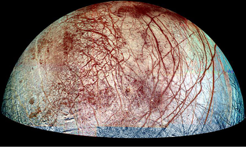 Europa, which we could be invading with tiny robots