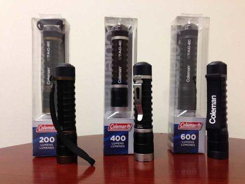 coleman flashlights