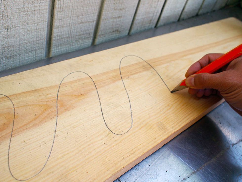 Use a Pencil to Make Sure You're Sanding the Right Amount