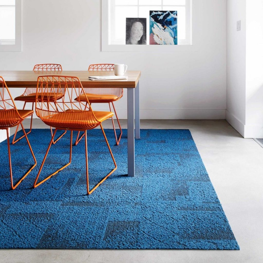 You Can Transform a Room in Minutes With Carpet Tiles
