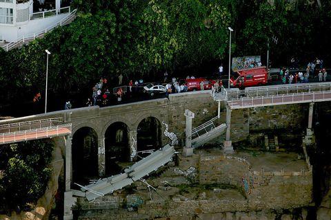 Bridge, Arch bridge, Arch, Aqueduct, Viaduct, Overpass, Concrete bridge, Fixed link, Devil's bridge, Canal,