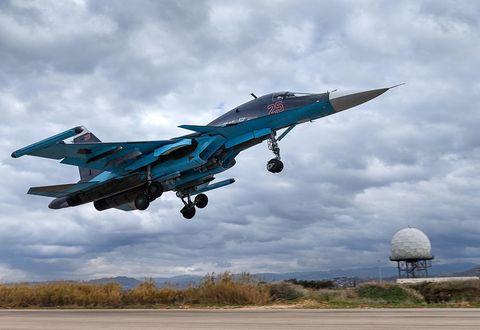 Airplane, Blue, Sky, Daytime, Aircraft, Cloud, Fighter aircraft, Jet aircraft, Military aircraft, Aviation,