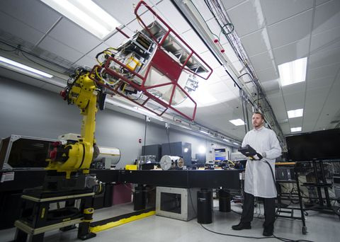 Inside the Factory Where Robots Make Missiles and Spacecraft