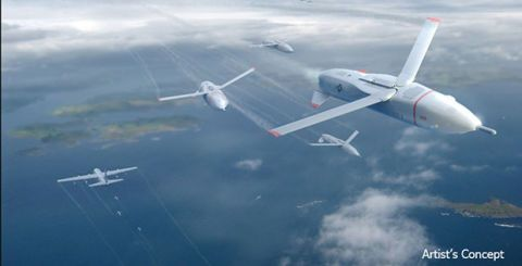 "Swarms of ""Gremlin"" Drones Would Bedevil Enemy Radar"
