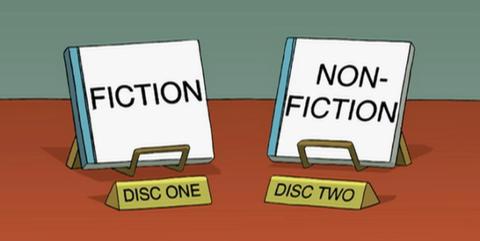 Futurama memory library joke