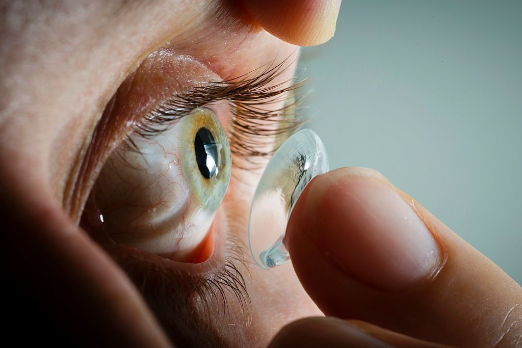 Sony's Smart Contacts Patent Imagines the Future of Sight