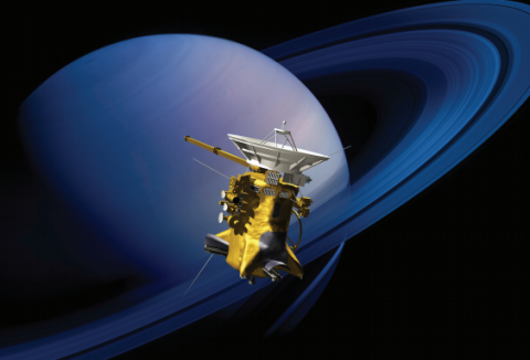 NASA's Stellar Saturn Explorer Has Just One Year Left