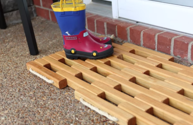 Perfect Make Your Own Gorgeous Wooden Doormat in an Afternoon BF39