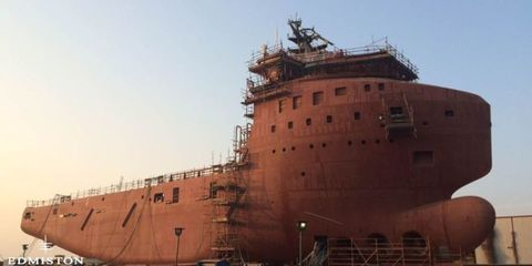 Brown, Infrastructure, Photograph, Wall, Amber, Landmark, Naval architecture, Ship, World, Morning,
