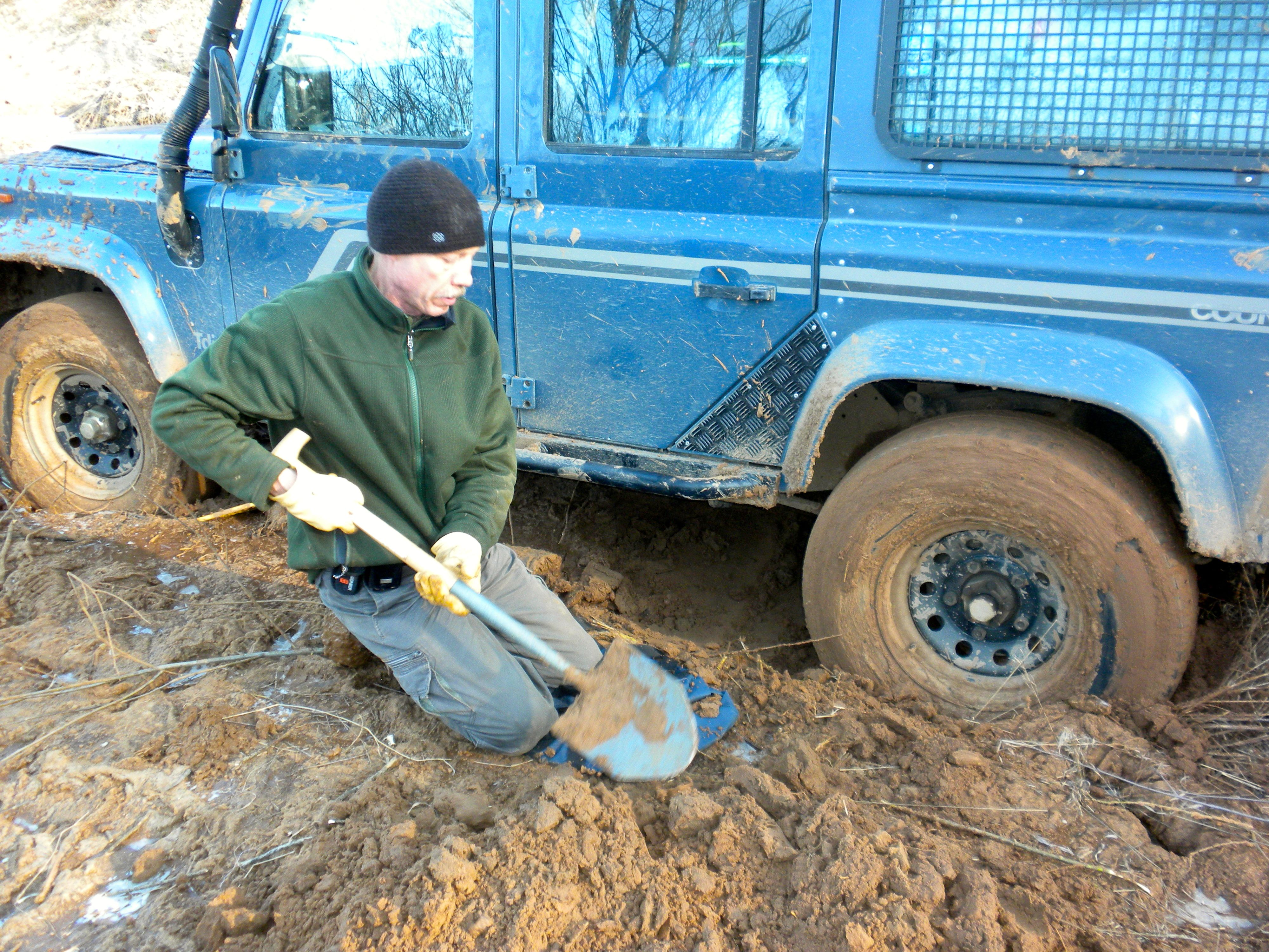 Truck Mud Tires >> 7 Tools to Bring With You Before Getting Stuck in Sand, Snow, or Mud - Recovery Gear Checklist
