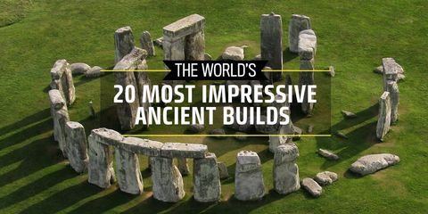 The World's 20 Most Impressive Ancient Builds
