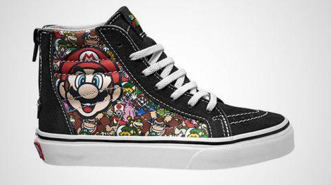 Mario World Vans