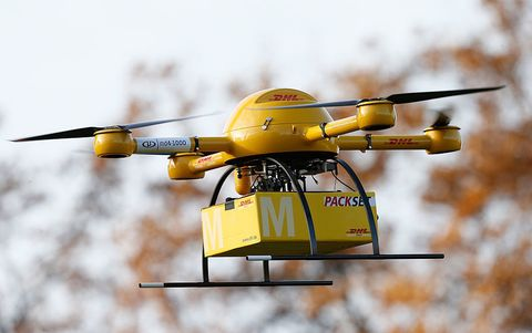Drones Are Already Delivering Packages in Germany