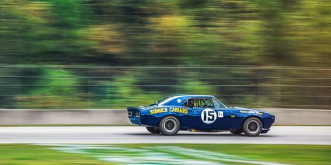 """<p>Mark Donohue was a master of creative interpretations of the rulebook, if not outright cheating. His <a href=""""http://www.roadandtrack.com/car-culture/a27645/penske-camaro-z28-2016-camaro-ss/"""" target=""""_blank"""">Penske Camaro Z/28</a>–with body panels dipped in acid to reduce weight and a """"safety"""" cage that gave it tons of rigidity–is one of the most infamous in all of motorsport. When Trans-Am organizers realized what he was doing, they banned the so-called """"Lightweight,"""" though it didn't stop Donohue from entering it the following year, disguised as a 1968 model. <a href=""""http://www.roadandtrack.com/car-culture/a27645/penske-camaro-z28-2016-camaro-ss/"""" target=""""_blank"""">Read the whole sneaky story here</a>.</p>"""