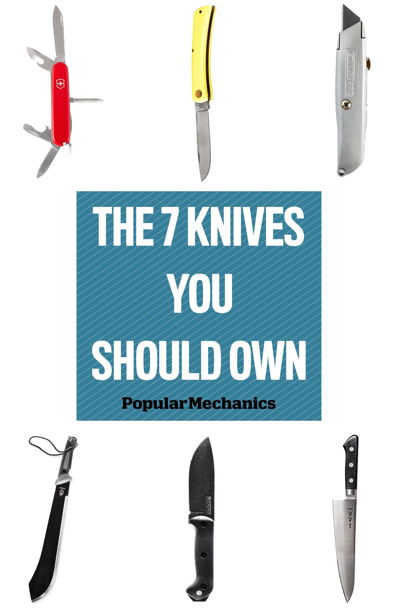 The 7 Knives You Should Own