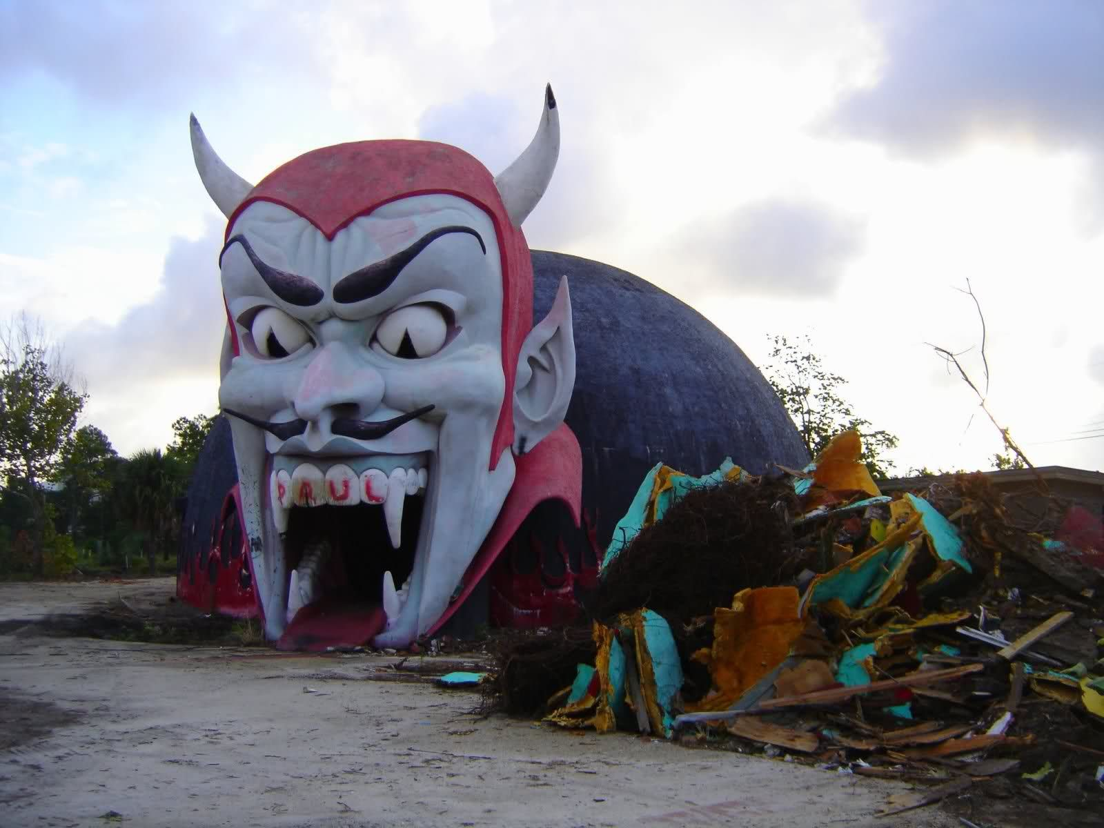 20 Creepy Abandoned Attractions