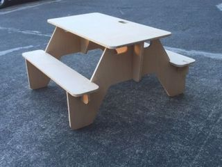 Make A FlatPack Picnic Table That You Can Always Bring With You - Picnic table mover