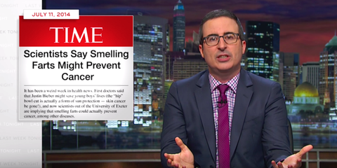 John Oliver Explains Why There Are So Many B.S. Scientific Studies