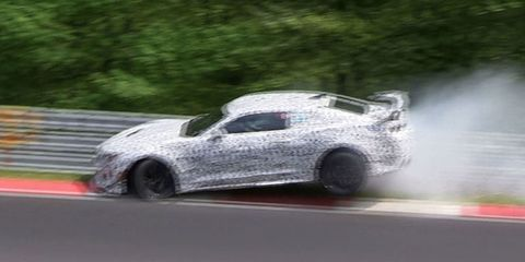 A Camaro Prototype Just Crashed on the Nurburgring