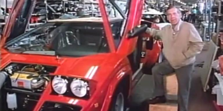 Revisit This Vintage '60 Minutes' Report on the Lamborghini Countach