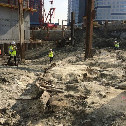 Extremely Rare Shipwreck Unearthed Beneath Boston Streets