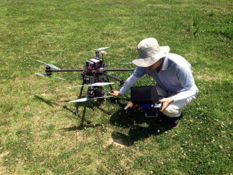 South Korean drone operator
