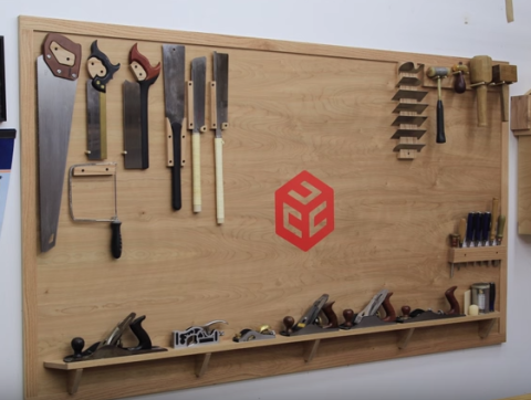 How to Build a Hand Tool Wall for Easy Access to Your Tools