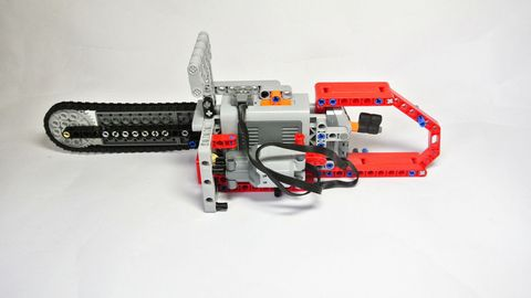 Machine, Space, Motorcycle accessories, Engineering, Metal, Steel, Silver, Bicycle part, Tool, Lego,