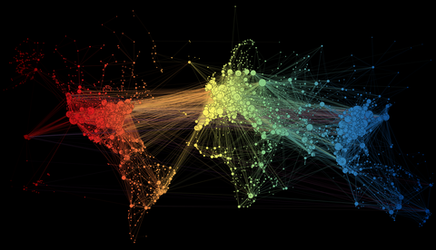 Here is how all the worlds airports are connected image publicscrutiny Image collections