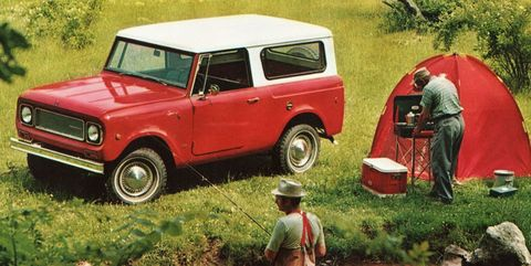<p>Sure the Ford Bronco is cool, but the International Scout is the ideal 1960s 4x4 for the true car geek. It's already a large brick on wheels, so making it into a Lego kit would be incredibly easy.</p>