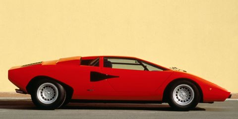 "<p>There's a reason the Lamborghini Countach has come to define the supercar. Its Marcello Gandini-penned wedge shape is striking, but pure in its simplicity. An <a href=""http://www.roadandtrack.com/car-culture/g6084/1977-lamborghini-countach-lp400-periscopo-photo-gallery/"" target=""_blank"">early LP400 Countach</a> like the one pictured above would make an excellent Lego kit thanks to its especially clean shape.</p>"