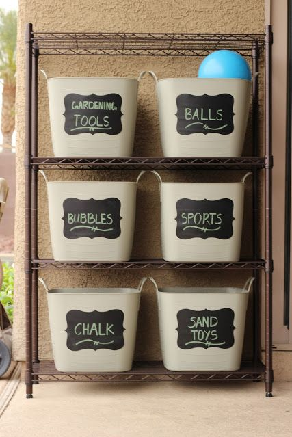 P These Chalkboard Labels Are Durable And Easy To Work With In Other Moosha Toy Storage