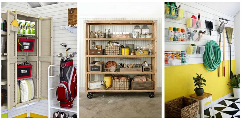 ideas and organization diy garage storage car inside one wall cabinet before after