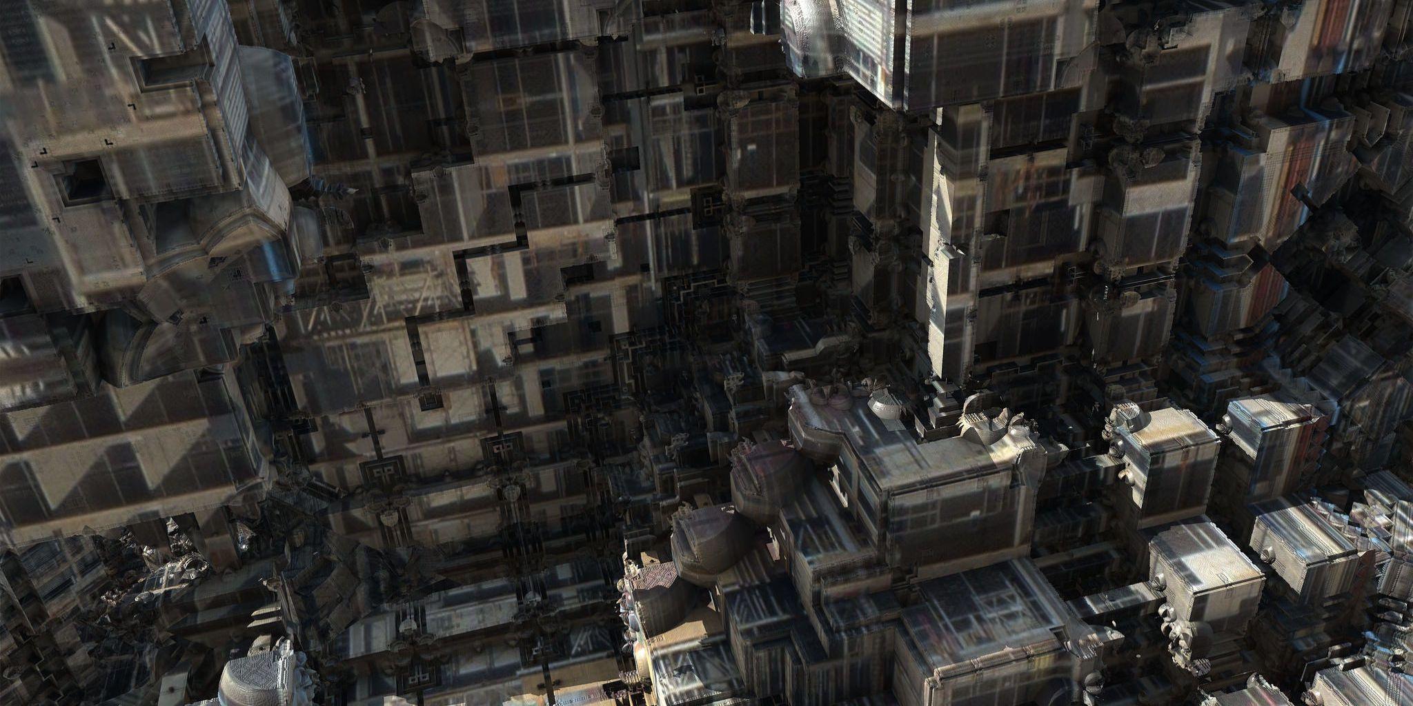 An Algorithm Built These Dystopian Cityscapes