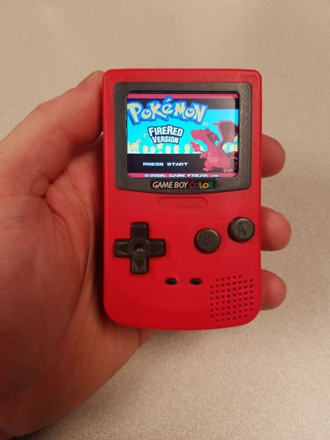 This tiny toy GameBoy is now a real GameBoy, kind of.