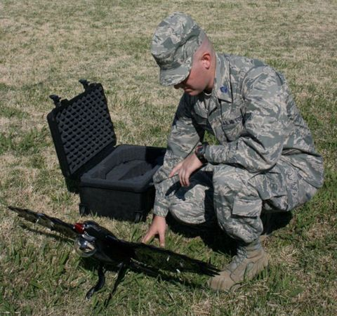 DII perching drone
