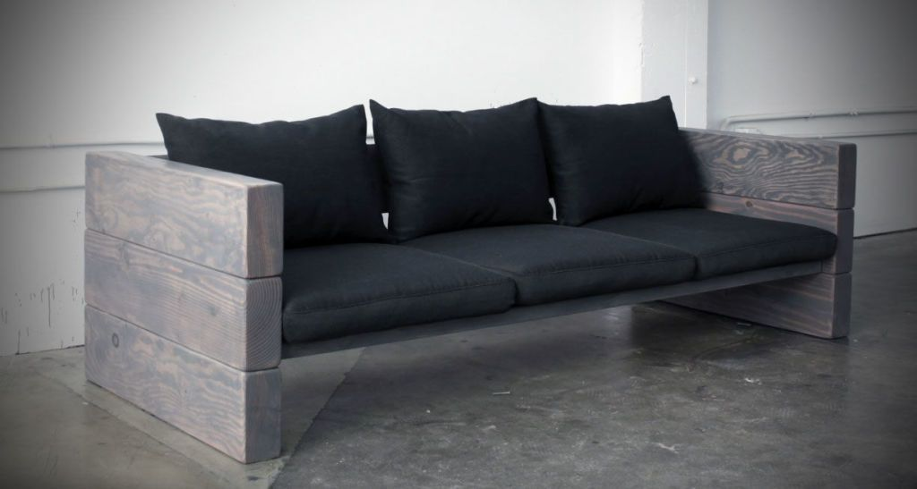 How to Build a Sleek Outdoor Sofa for Cheap