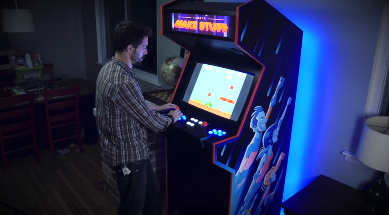 How To Build An Arcade Cabinet For Gaming And Storage