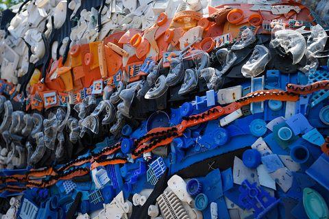 Blue, Orange, Art, Electric blue, Painting, Graffiti,